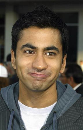 Actor Kal Penn, star of ''Harold and Kumar Go to White Castle'' poses at the premiere in Hollywood July 27, 2004 file photo. Penn is heeding ''The Call,'' an ABC comedy pilot about a team of L.A. paramedics. REUTERS/Fred Prouser