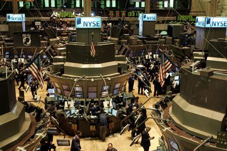 A general view shows the main trading floor at the New York Stock Exchange in New York March 28, 2007. REUTERS/Brendan McDermid