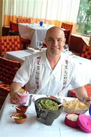Chef Roberto Santibanez in an undated photo. Santibanez is an ambassador of contemporary Mexican cuisine. His mission is to show that his country's cooking is as varied and complex as the country itself. REUTERS/Christopher Hirsheimer/Handout