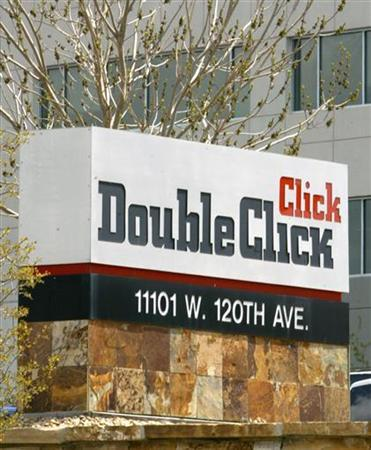 Google said on Friday it will acquire DoubleClick Inc., a leading online advertising network, for $3.1 billion, consolidating Google's grip on the Internet ad market. In this file photo, DoubleClick offices are shown in a Denver, Colorado suburb April 22, 2005. REUTERS/Rick Wilking
