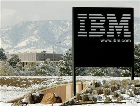 A view of the IBM facility outside Boulder, Colorado October 18, 2006. Red Hat Inc. and IBM formed a partnership to develop, sell and support Red Hat's Linux software for IBM's mainframe computers, people familiar with the arrangement said on Tuesday. REUTERS/Rick Wilking