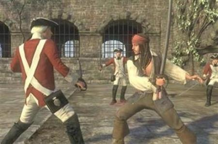 A screenshot from the video game 'Pirates of the Caribbean: At World's End' in an image courtesy of Disney Interactive. Walt Disney will triple the amount of money it spends developing video games to benefit from strong growth prospects in the global market, the entertainment company's chief financial officer said on Friday. REUTERS/Handout