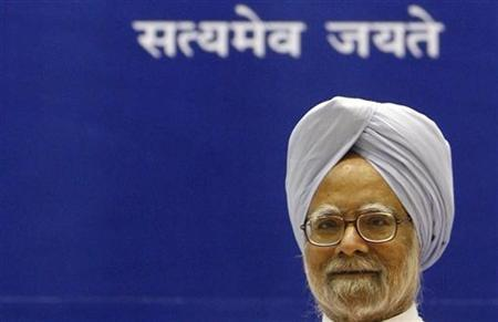 Indian Prime Minister Manmohan Singh speaks during the inauguration ceremony of first Statistics Day in New Delhi, June 29, 2007. The United States and India said on Friday they have completed negotiations on a nuclear cooperation deal that would offer enormous benefits for both sides. REUTERS/B Mathur