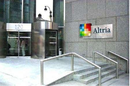 The Altria headquarters in New York in an undated file photo. Altria Group on Wednesday said it will spin off its international tobacco unit, and it also raised its quarterly dividend by 8.7 percent to 75 cents per share. REUTERS/Handout