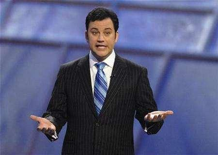 Comedian Jimmy Kimmel hosts the ''2007 ESPY Awards'' in Hollywood July 11, 2007. REUTERS/Phil McCarten