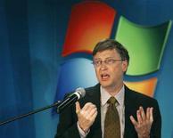 <p>Il presidente di Microsoft Bill Gates. REUTERS/Bogdan Cristel (ROMANIA)</p>