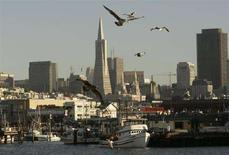 <p>Un'immagine della Baia di San Francisco. REUTERS/Robert Galbraith (UNITED STATES)</p>