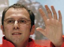 <p>Il nuovo direttore del team Ferrari Stefano Domenicali. REUTERS/Giampiero Sposito (ITALY)</p>