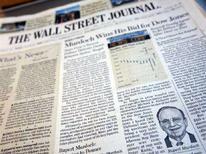 <p>Giornali Usa rischiano di peggiorare in recessione, dice Goldman. REUTERS PICTURE</p>