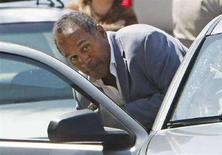 <p>O.J. Simpson al momento del suo arresto lo scorso settembre a Las Vegas. REUTERS/Rick Wilking</p>
