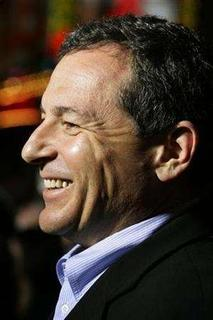 Robert Iger, president and chief executive of The Walt Disney Co. in Hollywood, California October 24, 2007. Iger received a 7 percent increase in total compensation in fiscal 2007, to $27.7 million, according to a filing with the U.S. Securities and Exchange Commission on Friday. REUTERS/Fred Prouser