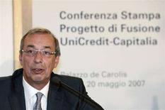 <p>Il presidente di Unicredit Dieter Rampl. REUTERS/Dario Pignatelli</p>