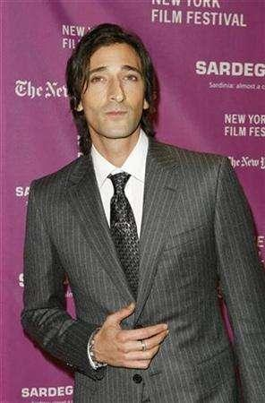 Adrien Brody arrives at the New York Film Festival opening night premiere of ''The Darjeeling Limited'' in New York September 28, 2007. Brody will play Chess Records founder Leonard Chess in ''Cadillac Records,'' a musical biopic that follows the turbulent lives of such bluesmen as Muddy Waters, Little Walter, and Howlin' Wolf. REUTERS/Lucas Jackson