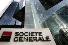 <p>Un'immagine della sede della Societe Generale vicino Parigi. REUTERS/Benoit Tessier (FRANCE)</p>