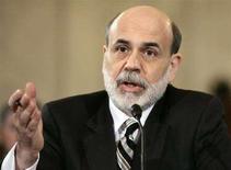 <p>Il presidente della Federal Reserve Ben Bernanke. REUTERS/Hyungwon Kang (UNITED STATES)</p>