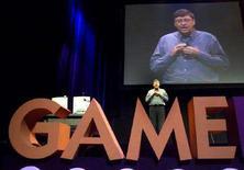 <p>Immagine d'archivio del presidente di Microsoft, Bill Gates. JC/MMR</p>