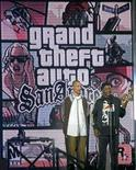 "<p>L'attore Samuel L. Jackson riceve il premio Gioco dell'Anno per ""Grand Theft Auto San Andreas"" agli Spike TV Video Game Awards a Santa Monica. REUTERS/Fred Prouser</p>"