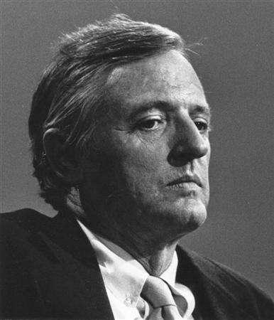 National Review founder William F. Buckley Jr. in an undated photo. Buckley, a revered figure and intellectual force in the American conservative movement for decades, died on Wednesday at age 82, said the magazine he founded, the National Review. REUTERS/National Review