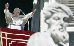 <p>Papa Bendetto XVI. REUTERS/Chris Helgren</p>