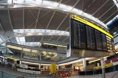 <p>Un terminal di Heathrow. REUTERS</p>