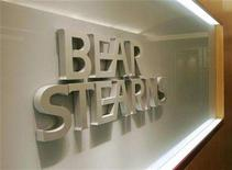 <p>A Bear Stearns sign is pictured at its office in Hong Kong's Central district March 17, 2008. REUTERS/Victor Fraile</p>
