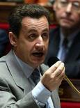 <p>Il Presidente francese Nicholas Sarkozy in una foto d'archivio. REUTERS/Victor Tonelli</p>