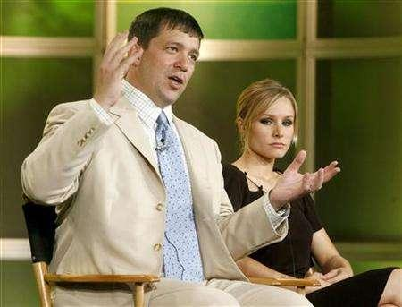 Actress Kristen Bell and Rob Thomas take part in a panel discussion at the Television Critics Association press tour in Pasadena, California July 17, 2006. REUTERS/Fred Prouser