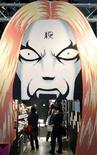 """<p>Lo stand del Visitors """"Detroit Metal City"""" aalla Fiera Internazionale dell'Anime di Tokyo, che aprirà ufficialmente i battenti il 29 marzo. REUTERS/Yuriko Nakao</p>"""