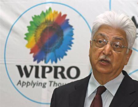 Azim Premji, chairman of Wipro Ltd., is seen at Wipro campus in Bangalore January 17, 2007. REUTERS/Jagadeesh Nv