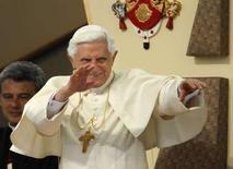 <p>Il Papa durante la sua visita a New York. REUTERS/Brian Snyder (UNITED STATES)</p>