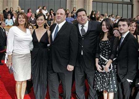 Cast members of the HBO television show ''The Sopranos'' arrive at the 13th Annual Screen Actors Guild Awards in Los Angeles January 28, 2007. REUTERS/Lucy Nicholson