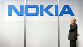 <p>Il logo di Nokia. REUTERS</p>