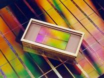 <p>Qimonda et Elpida ont formé un partenariat pour développer des mémoires DRAM afin de se renforcer face au numéro un du secteur, le sud-coréen Samsung. Les deux groupes ont l'intention de mettre en commun leurs technologies dans le but d'accélérer leurs progrès vers la conception de composants de plus en plus miniaturisés. /Photo d'archives/REUTERS</p>