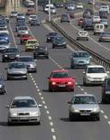 <p>Traffico in autostrada. REUTERS/Laszlo Balogh</p>