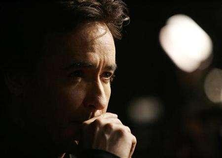 Cast member John Cusack attends the premiere of ''Grace Is Gone'' at the Academy of Motion Picture Arts and Sciences in Beverly Hills, California November 28, 2007. REUTERS/Mario Anzuoni