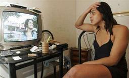 <p>Uno dei travestiti del caso che ha coinvolto il calciatore Ronaldo. REUTERS/Stringer (BRAZIL)</p>