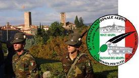 <p>Una foto pubblicata dal sito di Bassano del Grappa, www.vivibassano.it, per l'81esimo raduno degli alpini. REUTERS/HO</p>