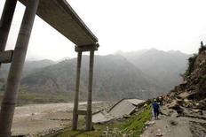 <p>Una delle zone distrutte dal terremoto in Cina. REUTERS/Aly Song</p>