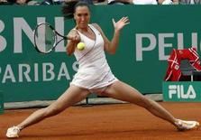 <p>Jelena Jankovic in un'immagine degli Open d'Italia a Roma di qualche giorno fa. REUTERS/Dario Pignatelli</p>