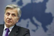 <p>Jean-Claude Trichet in una foto d'archivio. REUTERS/Thierry Roge (BELGIUM)</p>