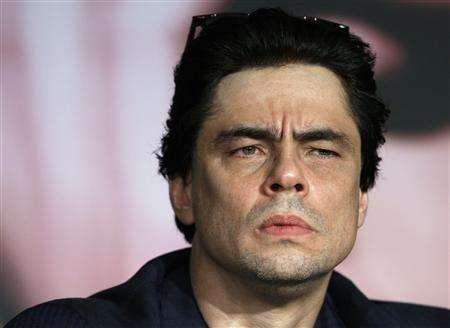 Cast member Benicio Del Toro attends a news conference for the film ''Che'' by director Steven Soderbergh at the 61st Cannes Film Festival May 22, 2008. REUTERS/Jean-Paul Pelissier