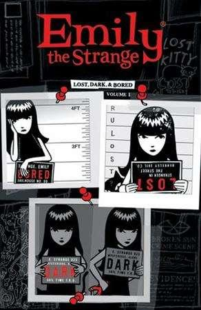 The cover of an ''Emily the Strange'' comic is seen in an undated handout image. REUTERS/Dark Horse Comics/Handout