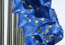 <p>La Commission européenne a donné son feu vert à une aide d'Etat française de 46 millions d'euros au programme de recherche-développement (R&D) Genesis dans le domaine des nanotechnologies. /Photo d'archives/REUTERS/Thierry Roge</p>