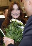 <p>Carla Bruni, moglie del presidente francese Nicolas Sarkozy. REUTERS/Jacques Brinon/POOL</p>
