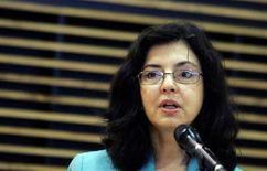 <p>Il Commissario europei per i Consumatori Meglena Kuneva REUTERS/Sebastien Pirlet</p>