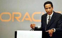 <p>Charles E. Phillips, presidente di Oracle. REUTERS/Punit Paranjpe</p>