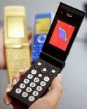 <p>Un cellulare di terza generazione REUTERS/Yuriko Nakao</p>