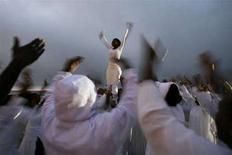 <p>Danzatori della comunità della chiesa battista di St. Paul, New York (immagine d'archivio). REUTERS/Shannon Stapleton (Usa)</p>