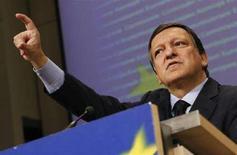 <p>Il presidente della Commissione Europea Josè Manuel Barroso. REUTERS</p>