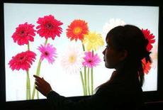 <p>Uno schermo Lcd Sony REUTERS/Yuriko Nakao</p>